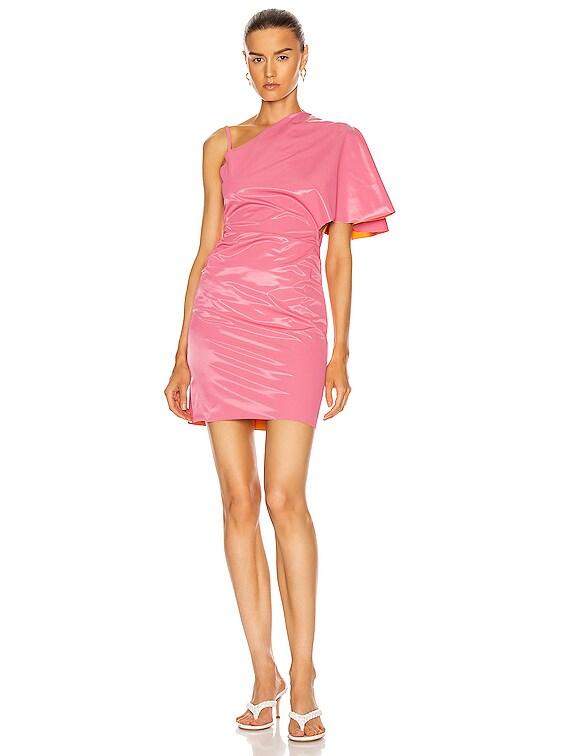 Slick Dress in Bubblegum