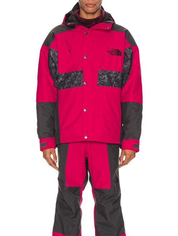 94 Rage WP Synthetic Insulated Jacket in Rose Red & Asphalt Grey