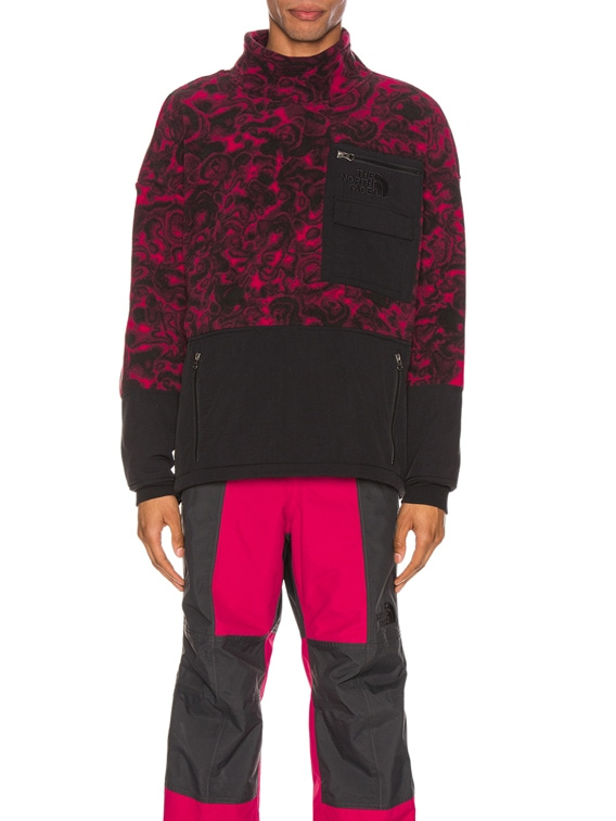 94 Rage Fleece Pullover in Rose Red