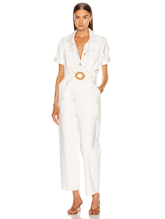 Arlo Jumpsuit in White