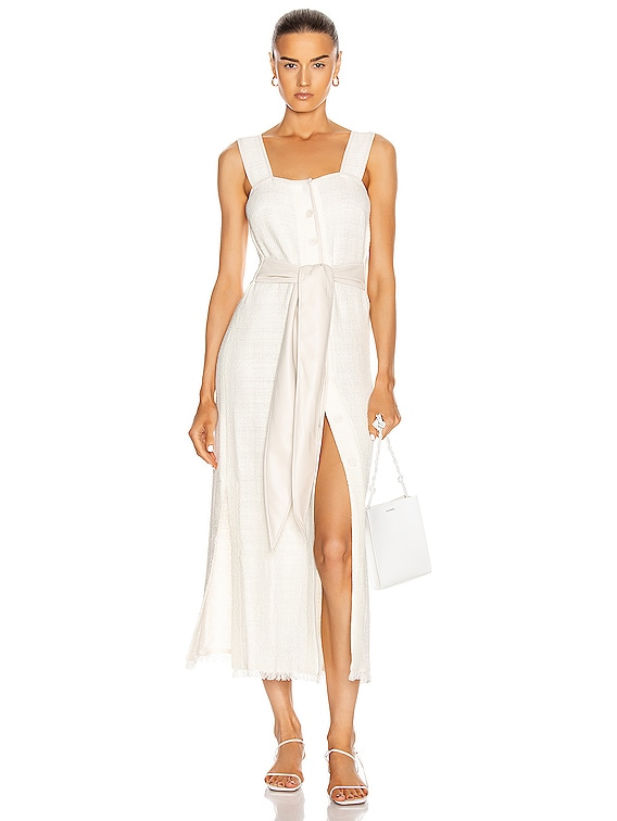 Rita Dress in White