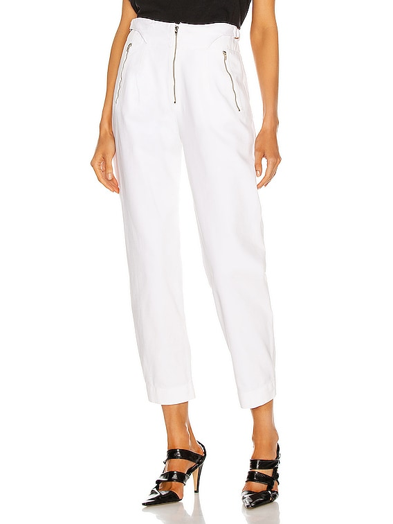 Gilles Pant in White