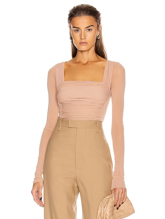 for FWRD Isabella Top in Nude