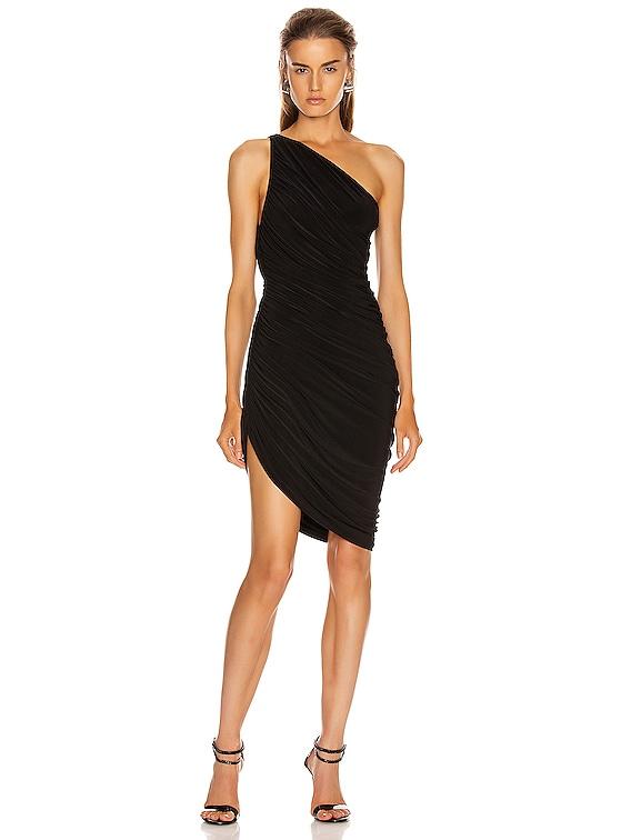 Diana Mini Dress in Black