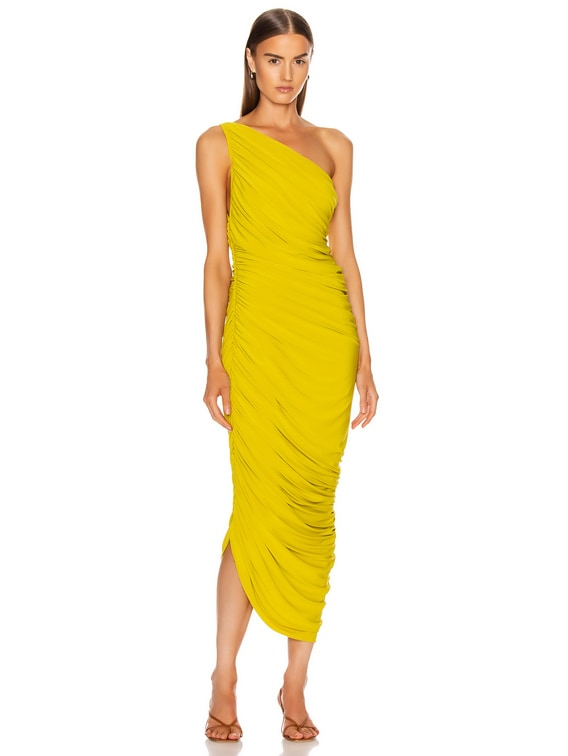 Diana Dress in Citrus