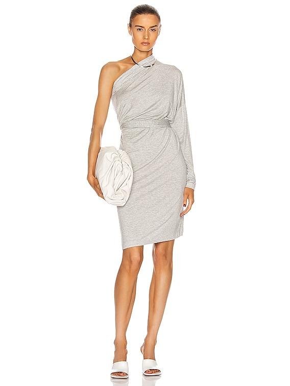 All In One Dress in Light Grey