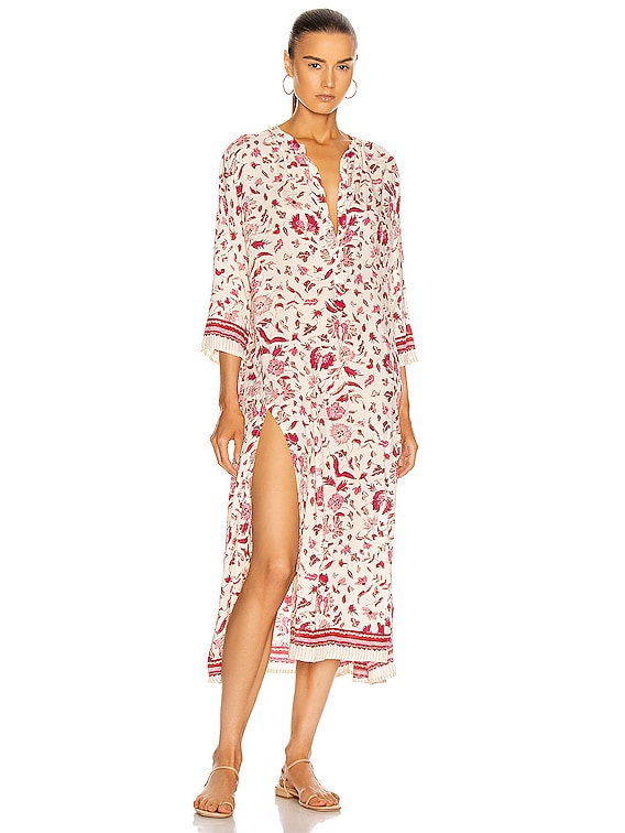 Isobel Dress in Wildflower Rose