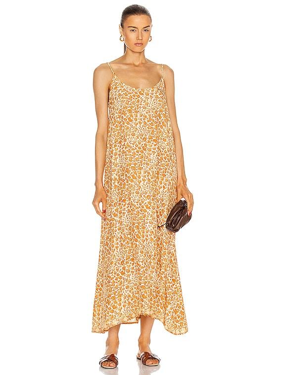 Heather Maxi Dress in Ivy Cinnamon Dark