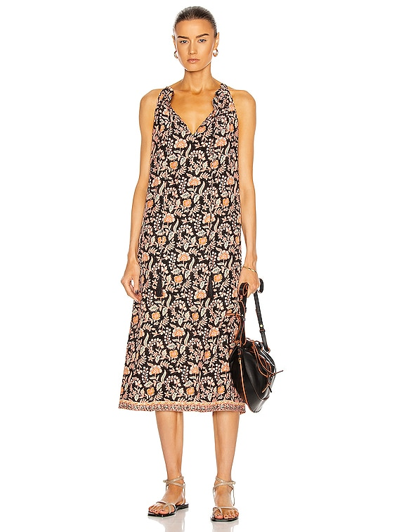 Marlien Maxi Dress in Sweet Autumn Black