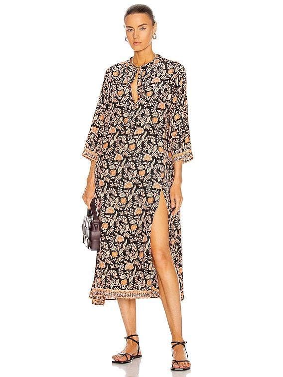 Isobel Dress in Sweet Autumn Black
