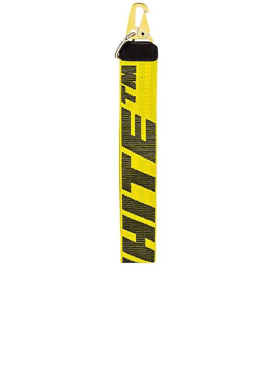 2.0 Industrial Key Holder in Yellow & Black
