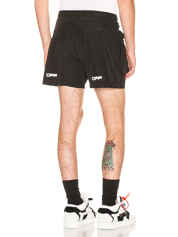 All Weather Shorts in Black & White