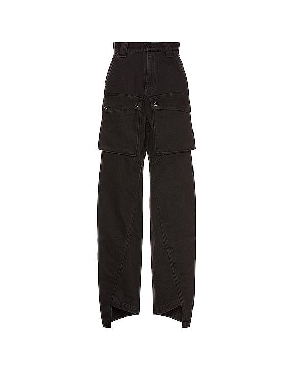 Pivot Workwear Pant in Vintage Black