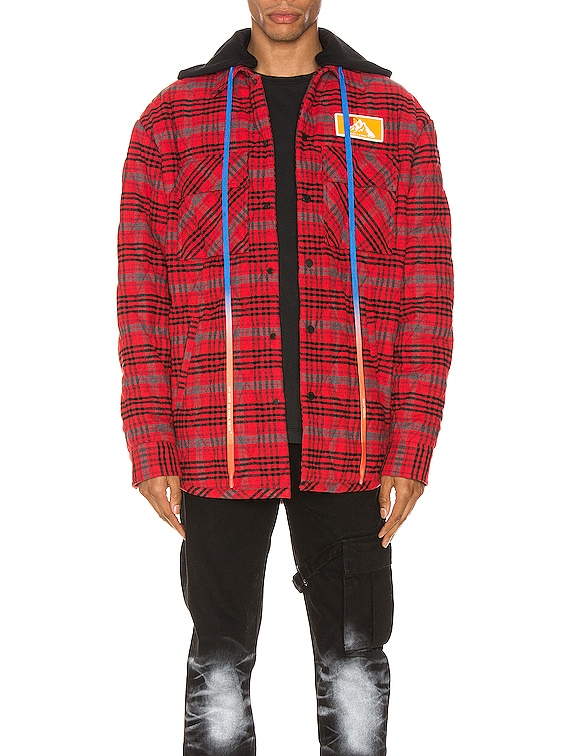 Flannel Jacket in Red