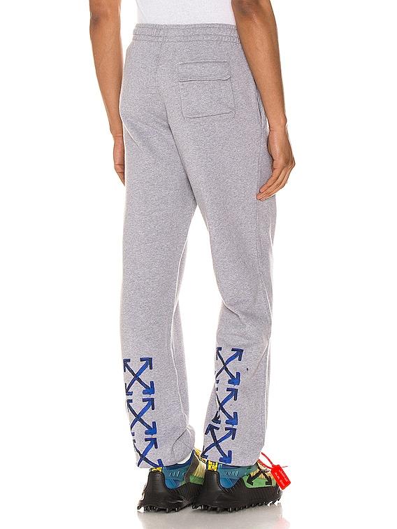 Acrylic Arrows Sweatpants in Grey