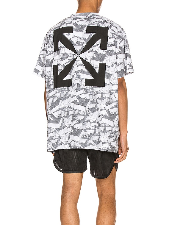 Arrows Pattern Over Tee in All Over