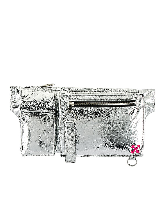 Pockets Fanny Pack in Silver
