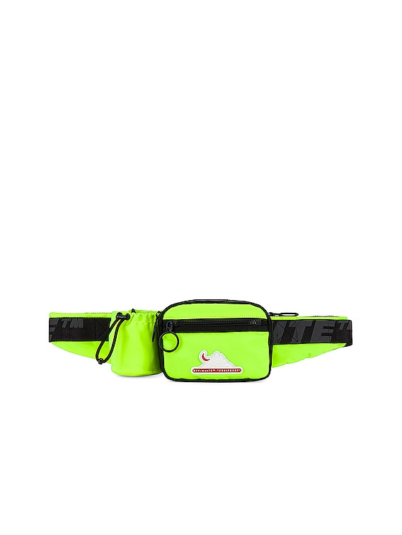 Equipment Fanny Pack in Fluo Yellow