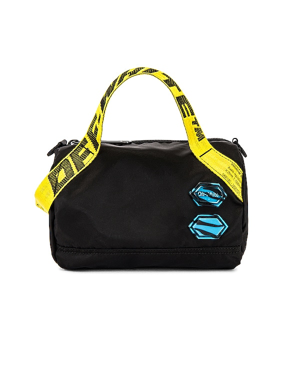 Nylon Baby Duffle Bag in Black