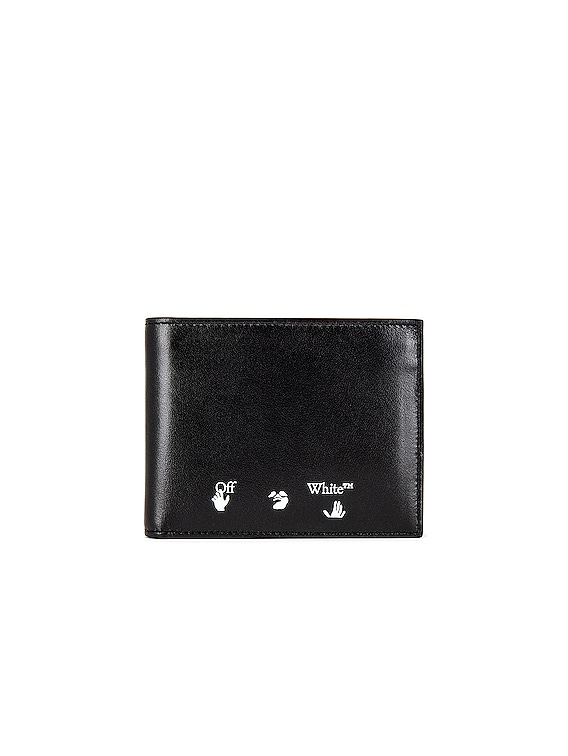 OW Logo Bifold Wallet in Black & White