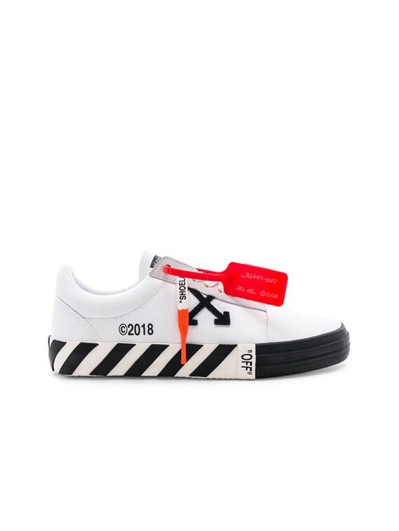 OFF-WHITE Vulcanized Sneaker in White