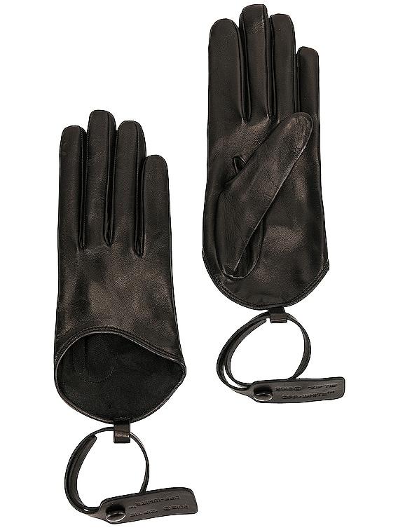 Nappa Gloves in Black