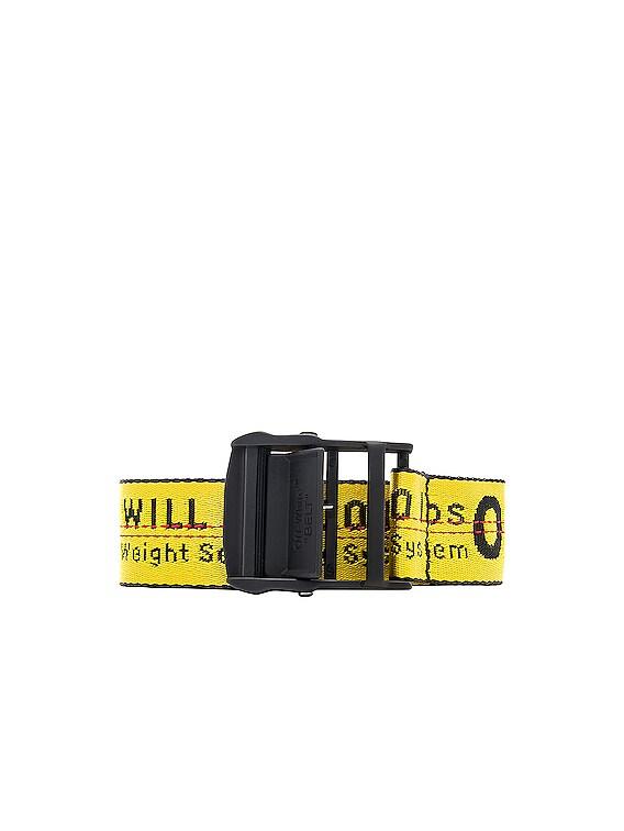 Classic Industrial Belt in Yellow & Black