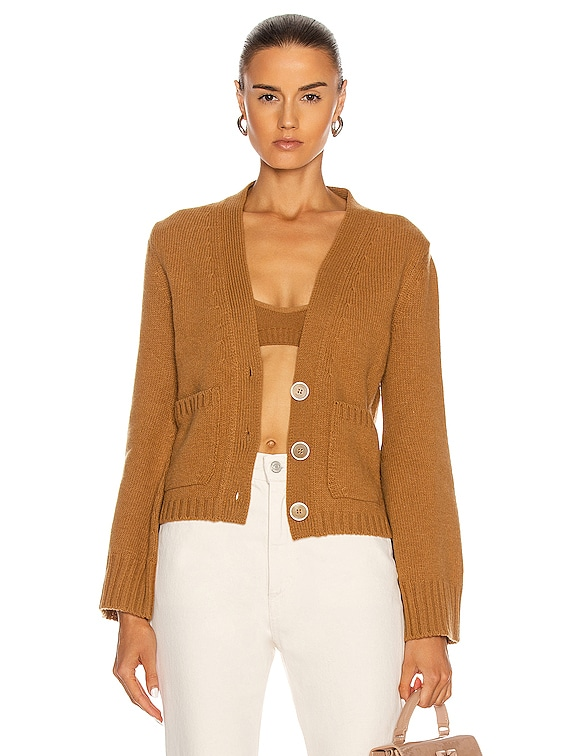 Twin Set Cardigan in Camel