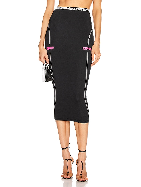 Active Pencil Skirt in Black