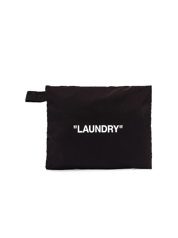 Laundry Pouch Bag in Black