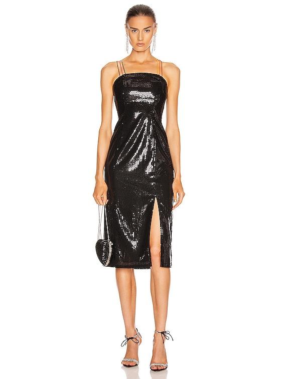 Greta Dress in Black
