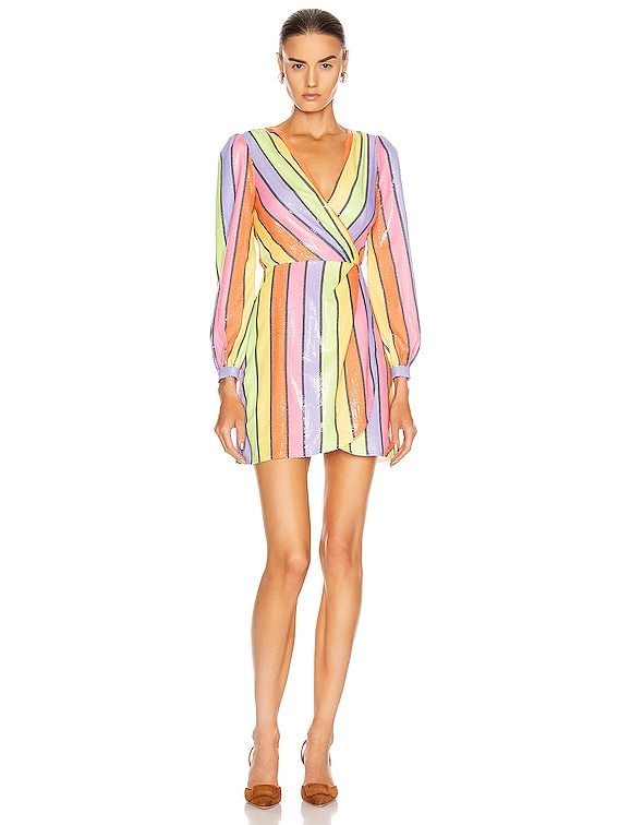 Meg Dress in Resort Stripe