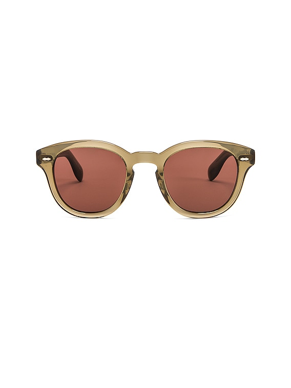 Cary Grant Sunglasses in Dusty Olive