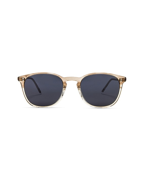 Finley Vintage Sunglasses in Military & Washed Blue