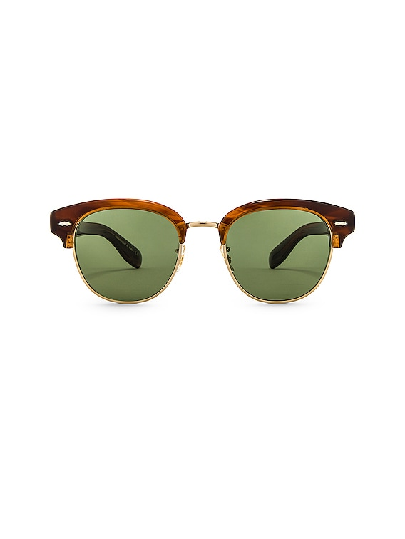 Cary Grant 2 Sunglasses in Tortoise & Jade