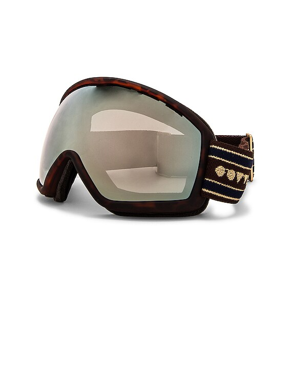 Snow Goggles in Matte Tortoise