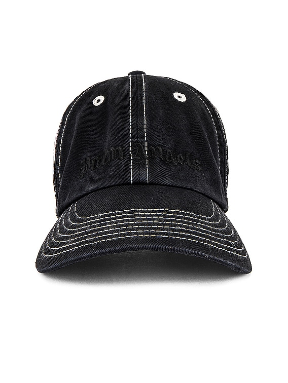 PB Tie Dye Logo Cap in Black & White
