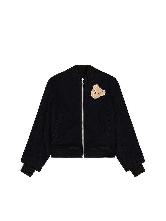 Bear Jacket in Jacket Blue & Brown