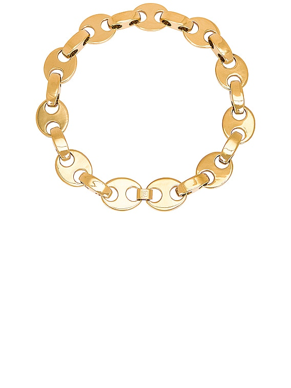 Eight Necklace in Gold