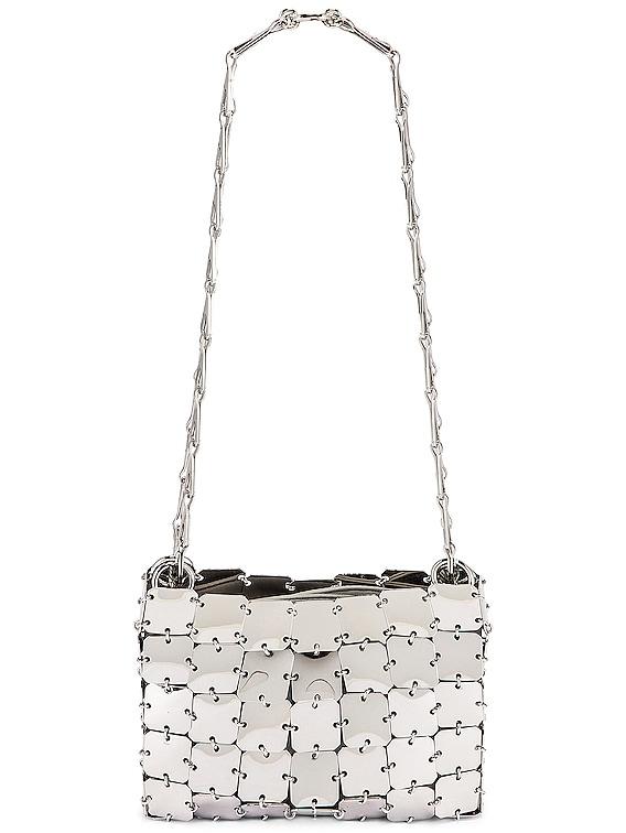 Square Nano 69 Bag in Silver