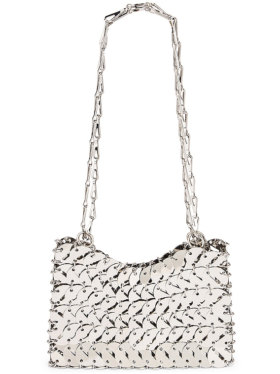 Perforated Disc 1969 Bag in Silver