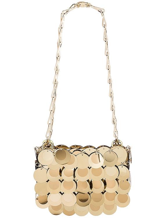 Sparkle Nano 69 Bag in Light Gold
