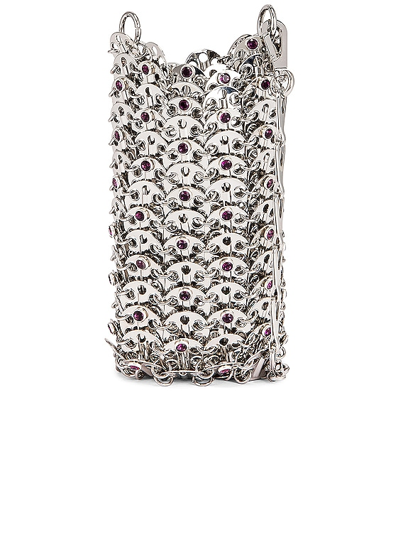 Mini 69 Bag in Silver