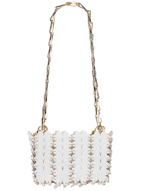 Sac Porte Epaul Clover Shoulder Bag in White