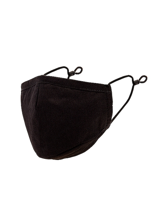Triple Layered Protective Face Mask in Black