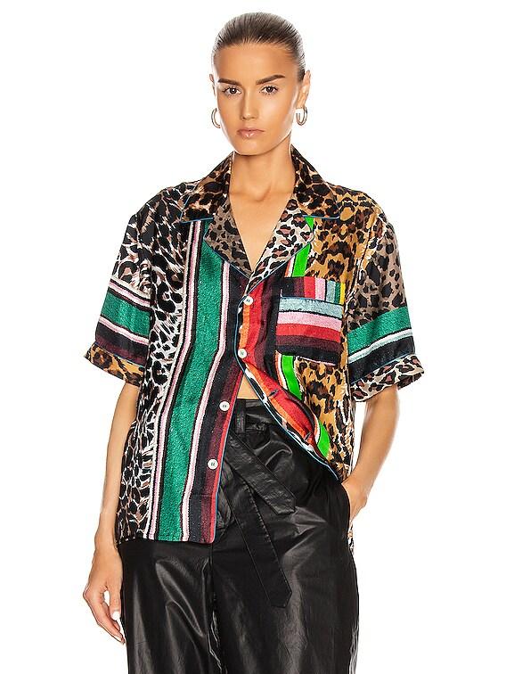 Short Sleeve Shirt in Multi