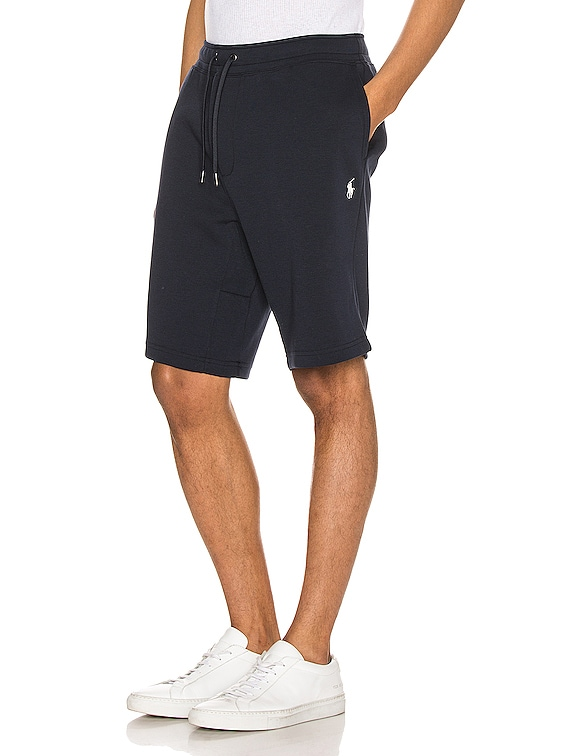 Double Knit Tech Shorts in Aviator Navy