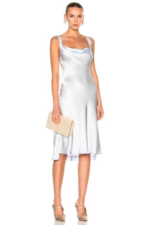 big sale lowest price first rate Protagonist New Draped Slip in Glass   FWRD