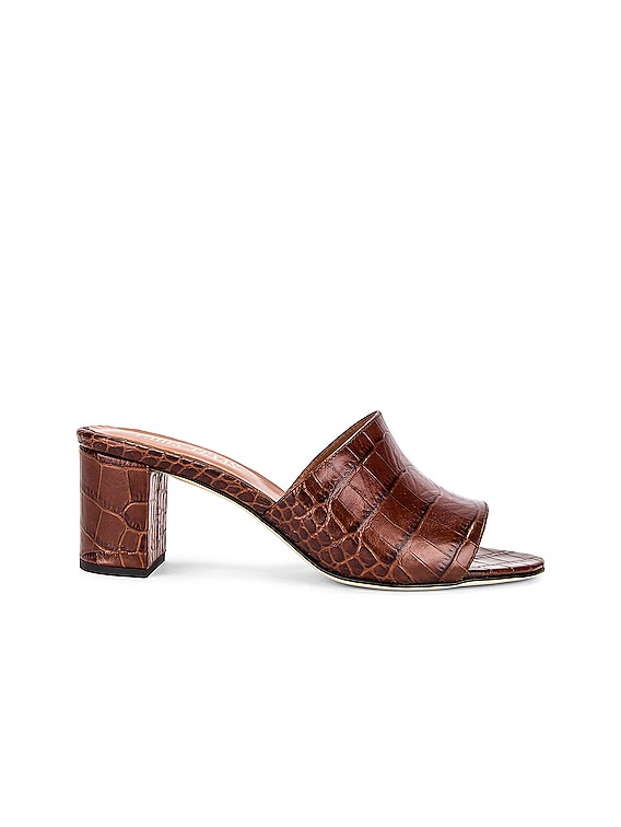 Moc Croco 60 Mule in Brown