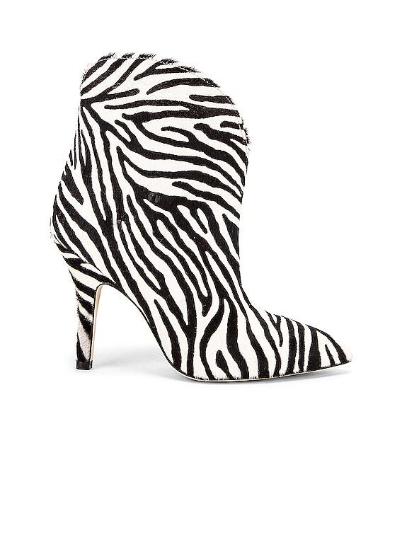 Pony Ankle Boot in Zebra